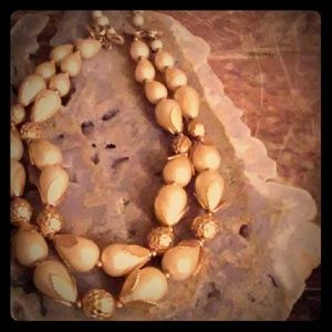 Beautifull Vintage 60's Deauville Beaded Necklace